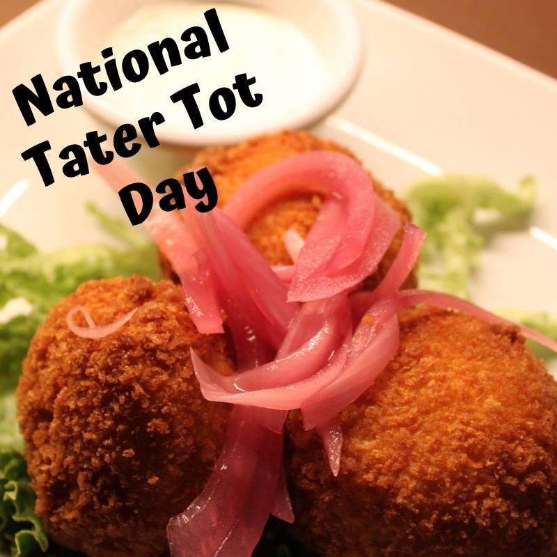 National Tater Tot Day Wishes Beautiful Image