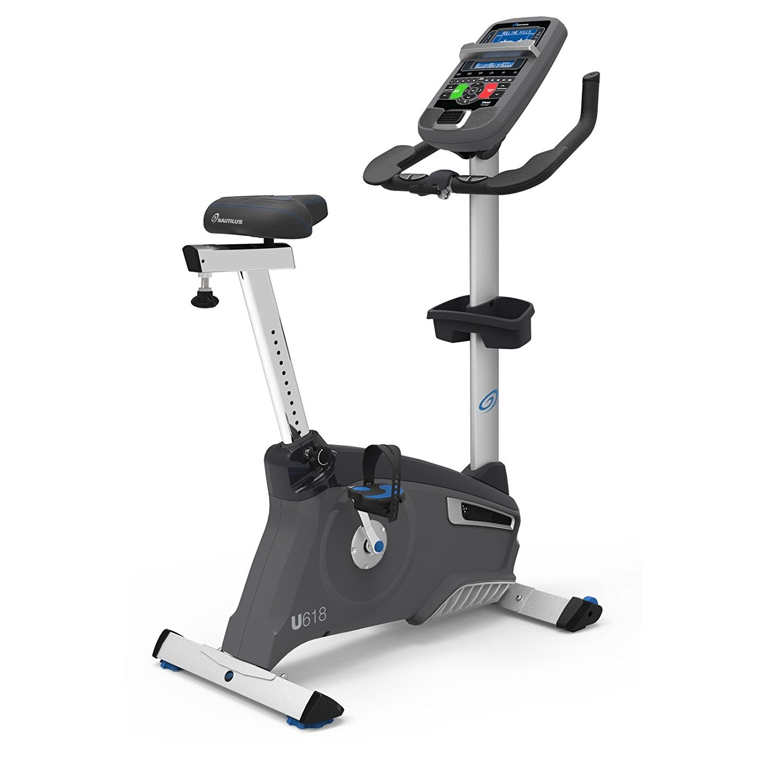 Exercise Bike Zone: Nautilus U618 Upright Exercise Bike