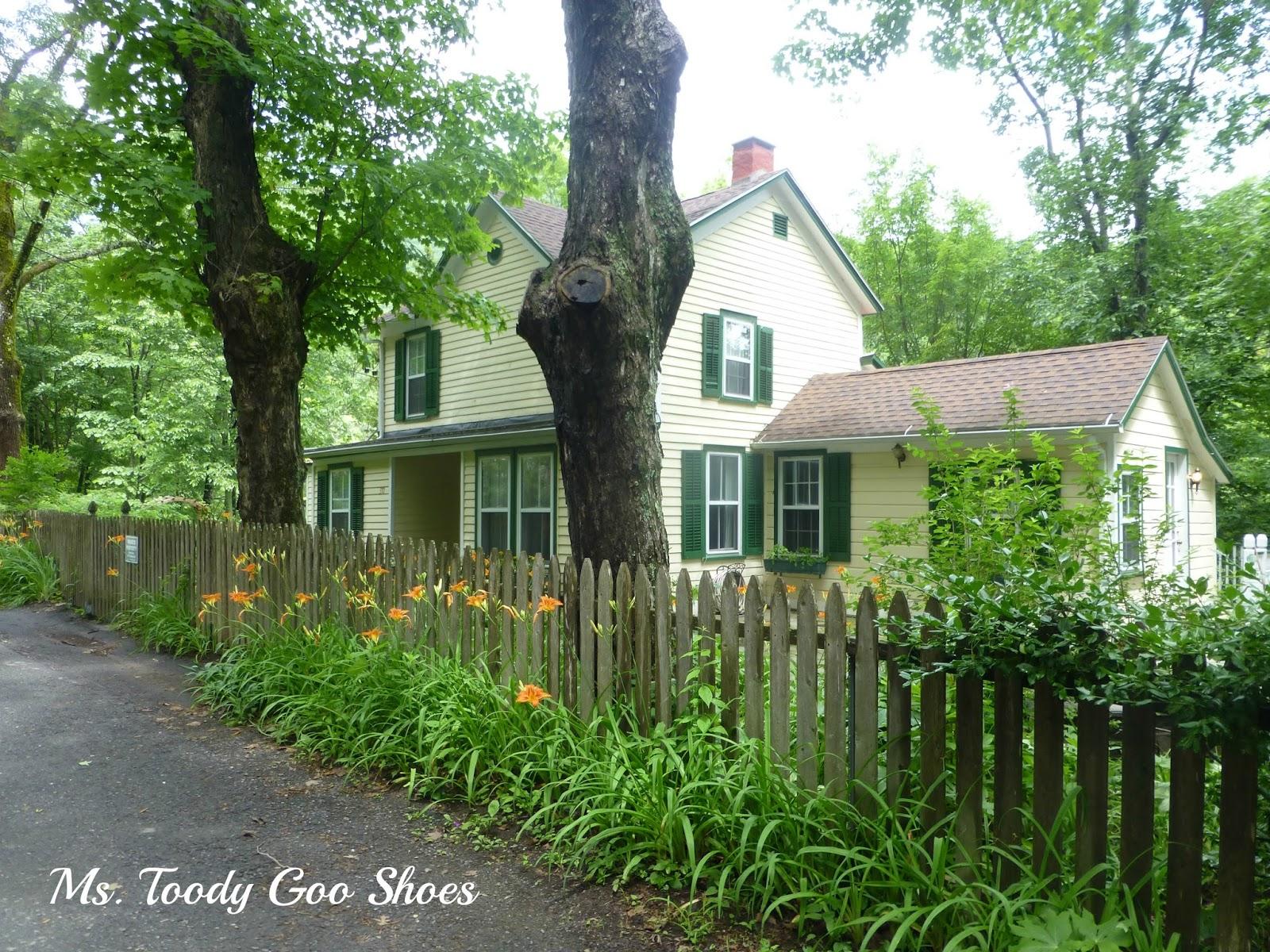 Woodstock, NY Catskill Mountains by Ms. Toody Goo Shoes