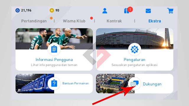 Cara menautkan akun e-Football PES 2020 Mobile ke ID KONAMI