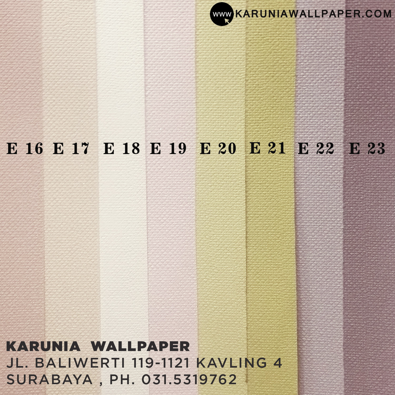 jual wallpaper dinding warna pastel pink muda cantik