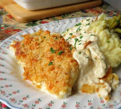 Creamy Baked Haddock