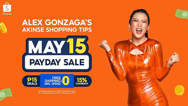 Alex Gonzaga Shopping Tips for Shopee 5.15 Sale