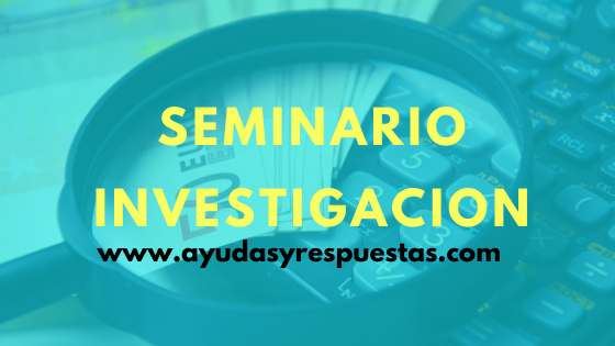 seminario investigacion