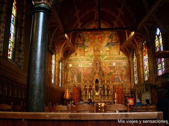 La Basílica de la Santa Sangre, Brujas, Bélgica