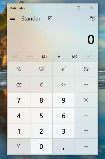 Daftar Aplikasi Kalkulator Terbaik Untuk Windows
