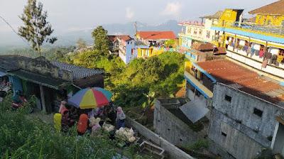 Hunian warga di Dusun Butuh
