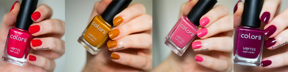 collection inspiration Douce France vernis Colorii