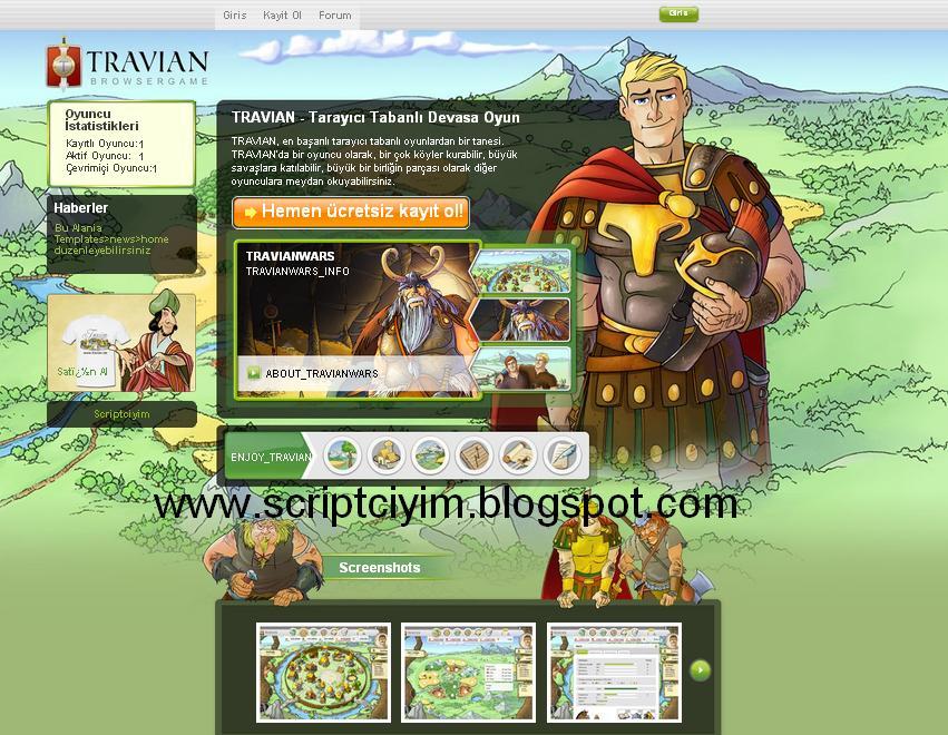 Travian Script