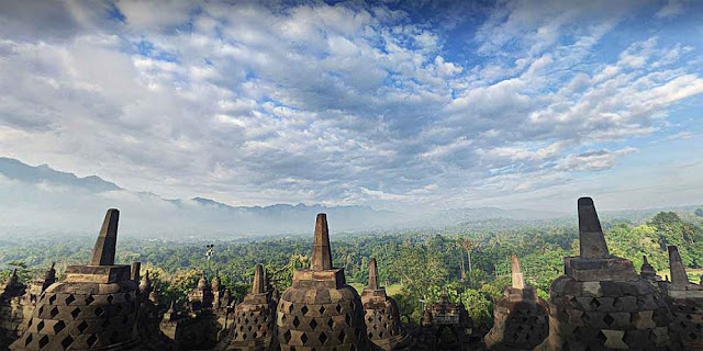 Fast Track Route to Borobudur from Yogyakarta for tourists
