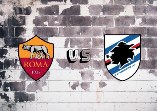 Roma vs Sampdoria  Resumen
