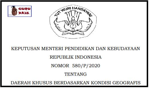 gambar kepmendikbud 580/p/2020