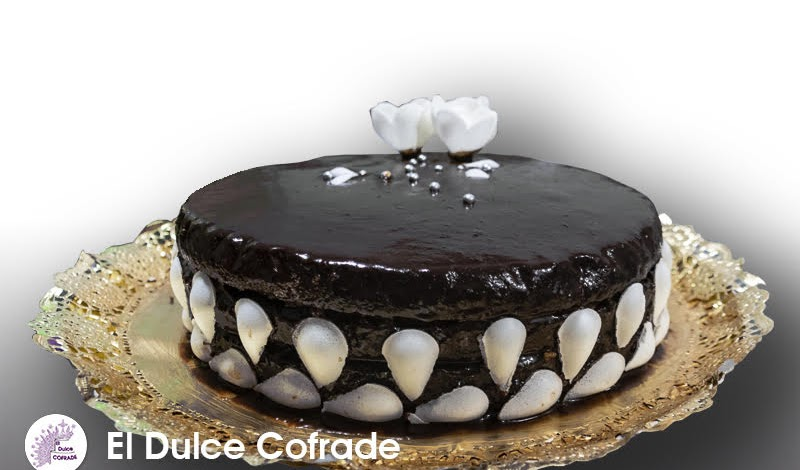 Tarta de Coco y Chocolate con Orange Curd