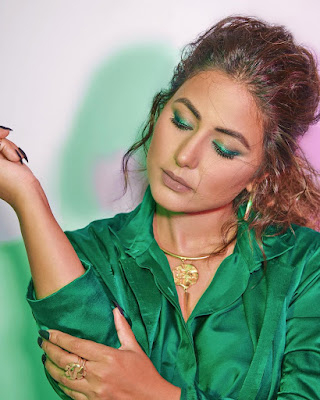 Hina Khan fashion and style looks latest