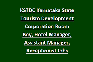 KSTDC Karnataka State Tourism Development Corporation Room Boy, Hotel Manager, Assistant Manager, Receptionist Jobs Recruitment 2020