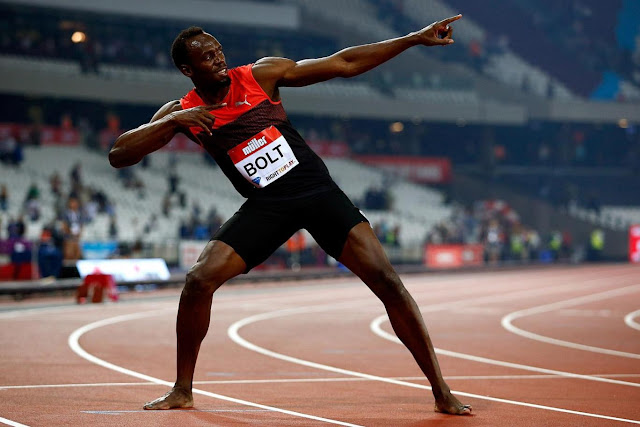 Six-time Olympic medallist has never run a mile in his life, according to his agent Christopher Lee/Getty Images