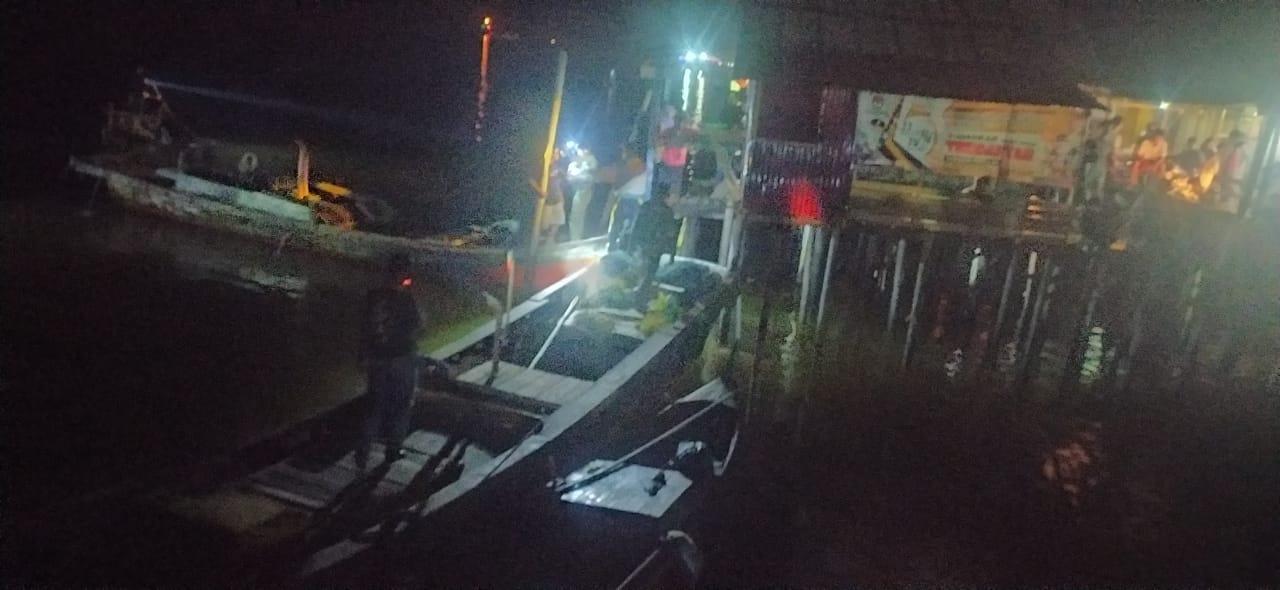 Terjun Ke Sungai, Warga Kampung Laut Tenggelam Belum Ditemukan