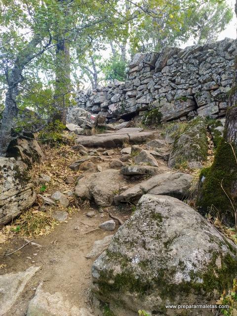 ruta de senderismo a Las Machotas y Escorial