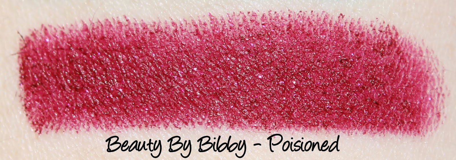 Beauty By Bibby Lipsticks - Poisoned and Medusa Swatches & Review