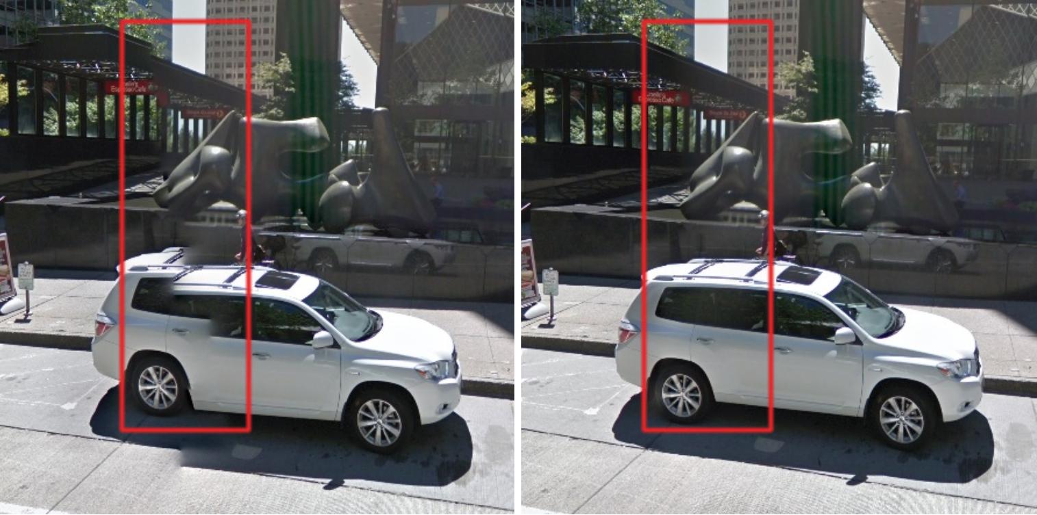 Google AI Blog: Seamless Google Street View Panoramas