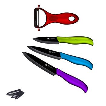 Набор керамических ножей
