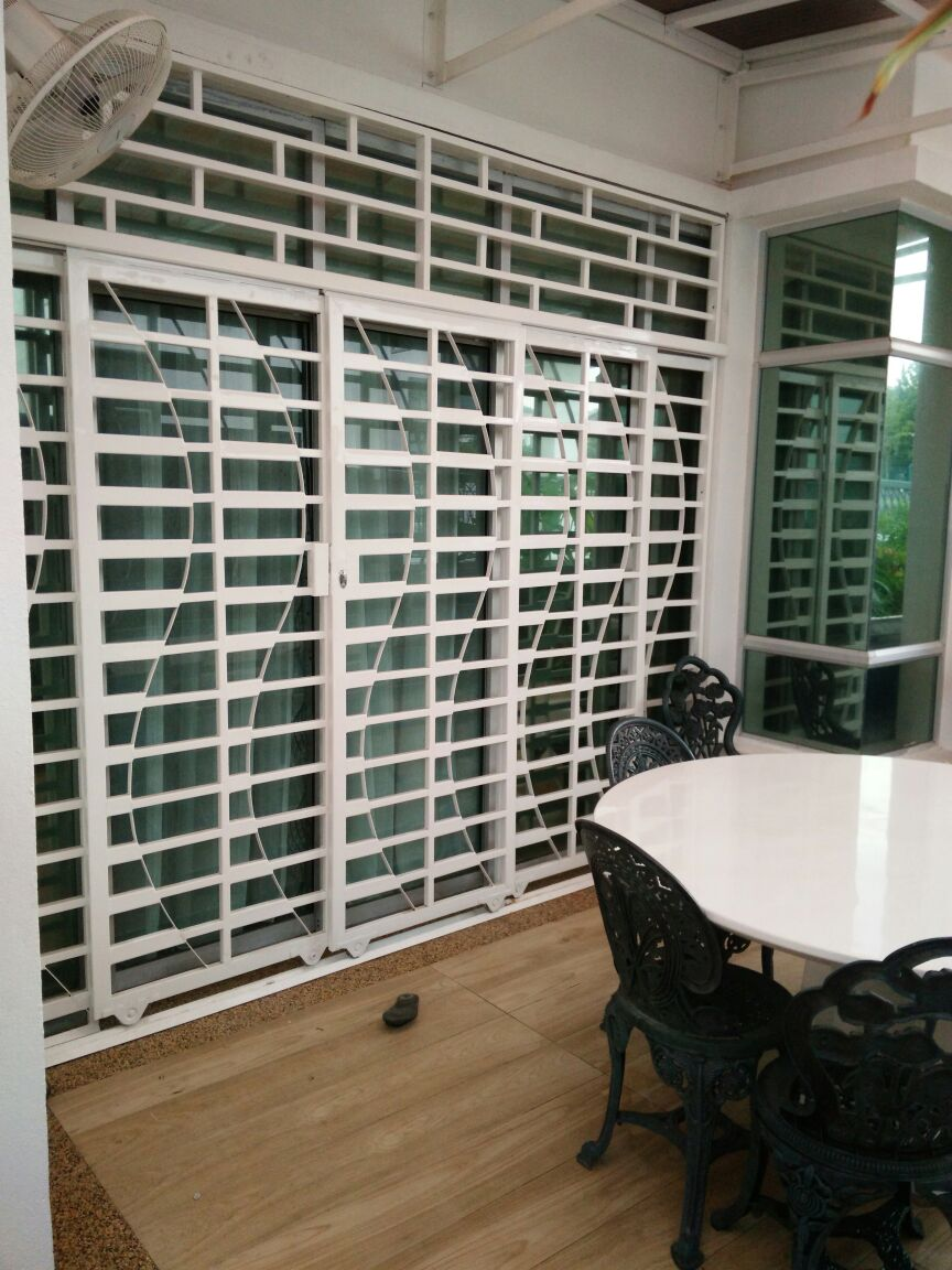Jenis Stainless Steel Untuk Pagar Powder Coated Steel For Sliding Door Grill ~ Mhs Global