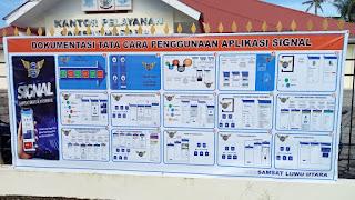 "Tingkatkan Pelayan Masyarakat Samsat Luwu Utara Segera Lounching Aplikasi ""Signal"""