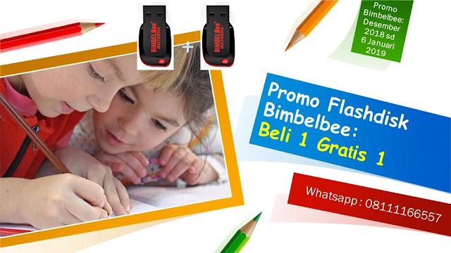 promo flashdisk bimbelbee beli satu gratis satu