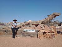 BIG Things South Australia | BIG Lizard in Coober Pedy