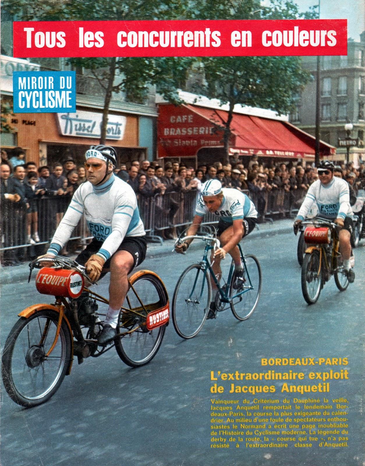 Mon tour de france 1959 la suite anquetil la une de for Le miroir du cyclisme