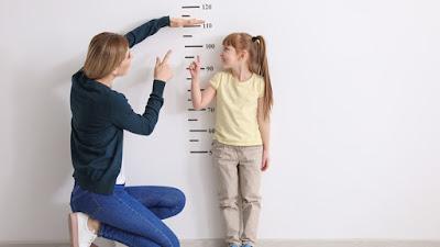 tinggi badan, mengukur tinggi badan, anak