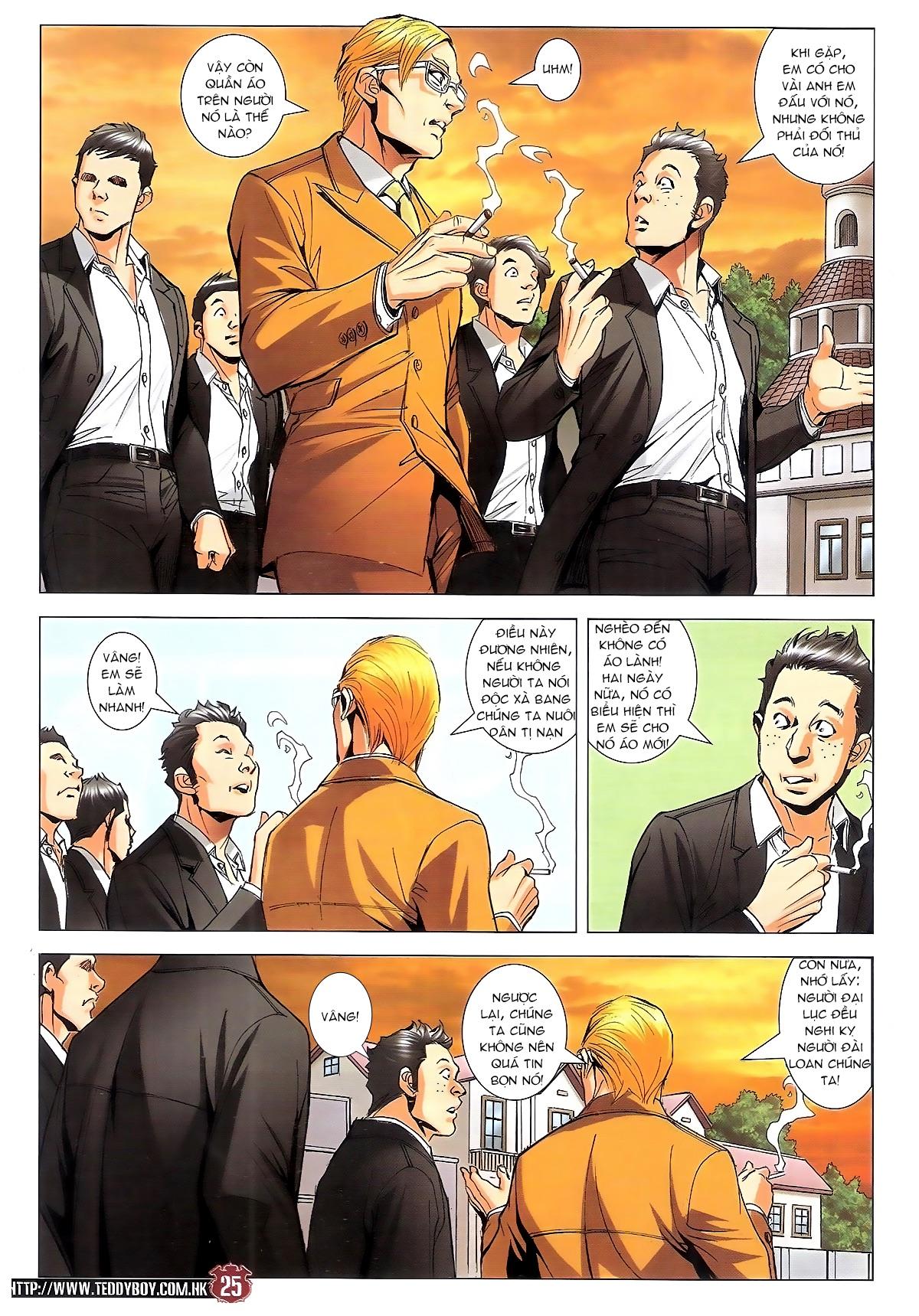 Người Trong Giang Hồ chapter 1795: hoàng tiên sinh trang 24