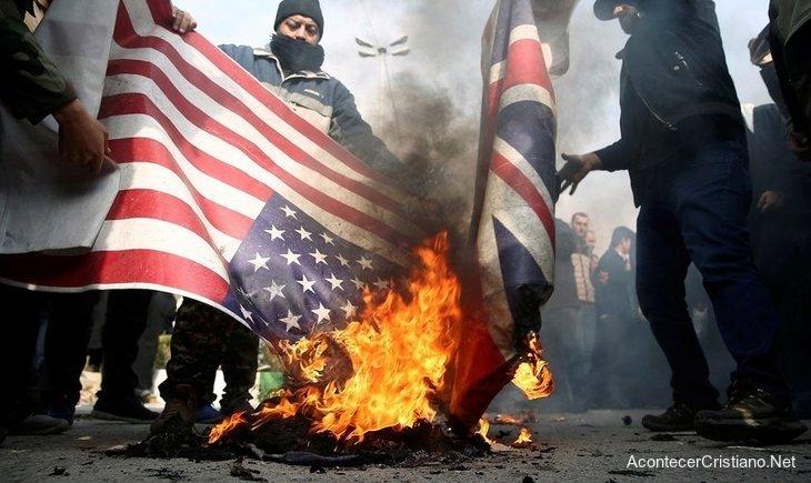 Protestas contra Estados Unidos en Irak