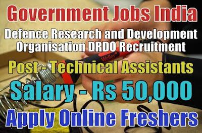 Defence DRDO Recruitment 2018