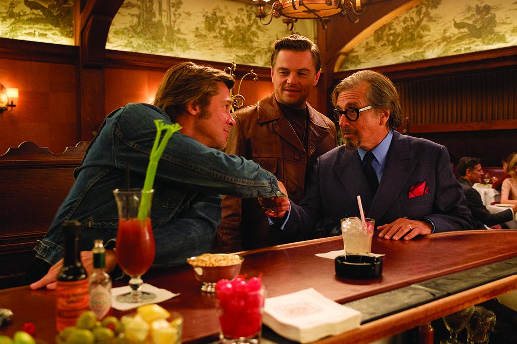 Demode Showroom Erase una vez en Hollywood Brad Pitt Leonardo DiCaprio Al Pacino