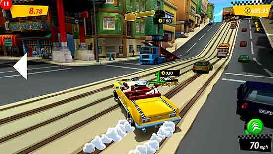 Crazy Taxi City Rush Mod Apk Download