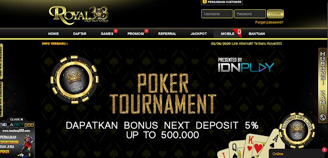 Situs Judi Poker Terbaik Bonus 15% Seumur Hidup
