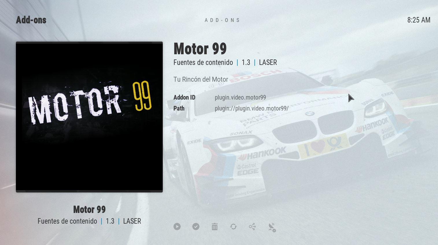 Descarga addon MOTOR99 kodi