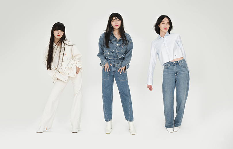 Perfume serve grown and sexy for Levi's | Random J Pop