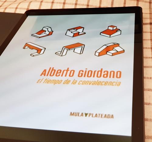 «El tiempo de la convalecencia» de Alberto Giordano en Bestia Lectora