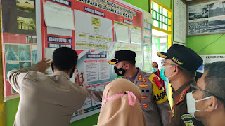 Kapolres Enrekang Tekankan Penanganan Covid-19 Di Kampung Tangguh Massenrempulu Balla Ewako Kalosi