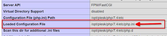 Linux: ¿Dónde está php.ini?