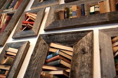 Especial Sant Jordi, decoración con libros