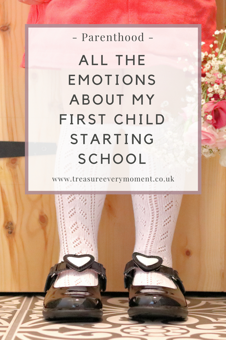 PARENTHOOD: All the Emotions about my First Child starting School