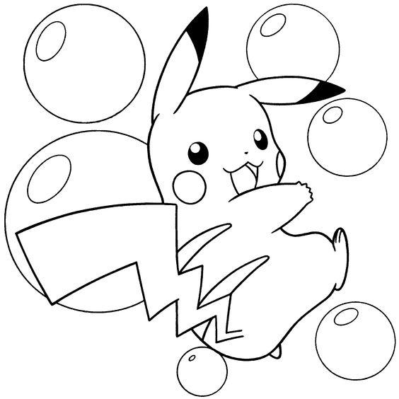 Tranh tô màu Pokemon 07