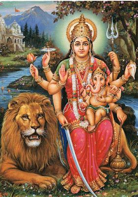 ಶ್ರೀ ದುರ್ಗಾ ಅಷ್ಟೋತ್ತರ ಶತ ನಾಮಾವಳಿ Durga Ashtottara Shatanamavali Kannada Lyrics