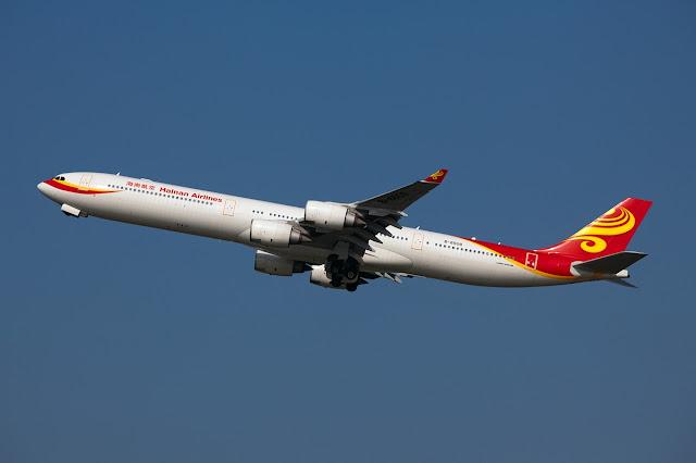 Hainan Airlines Airbus A340-600 Landing Gear