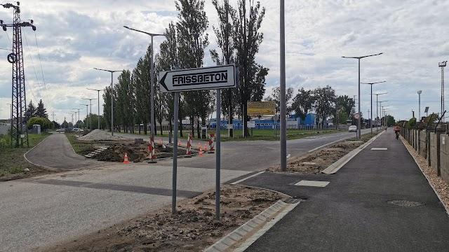 Hamarosan változik a forgalmi rend az Ipari úton és a Tevan Andor utcában
