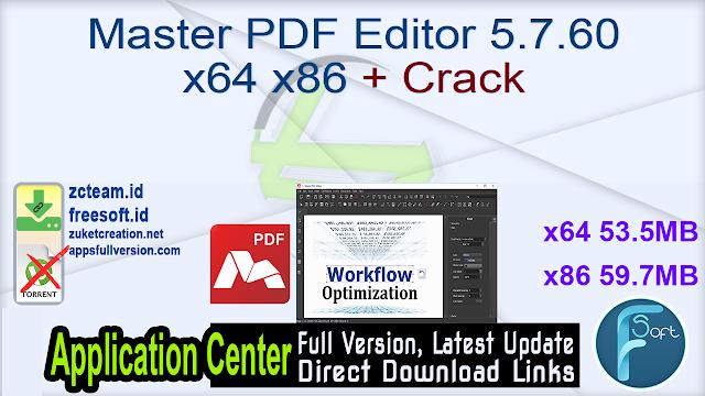 Master PDF Editor 5.7.60 x64 x86 + Crack_ ZcTeam.id