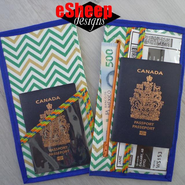 Passport & Travel Document Keeper by eSheep Designs